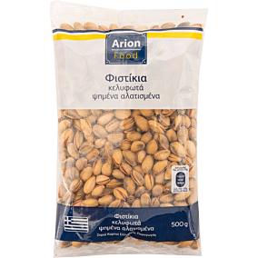 Φυστίκια ARION FOOD κελυφωτά, ψημένα, αλατισμένα (500g)