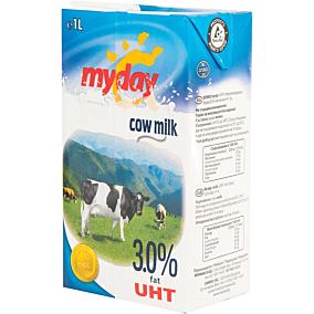 Γάλα MY DAY μακράς διαρκείας 3% λιπαρά (1lt)