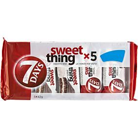 Κέικ 7DAYS sweet thing (5x42g)