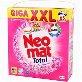 Απορρυπαντικό NEOMAT άγριο τριαντάφυλλο πλυντηρίου ρούχων, υγρό (65μεζ.)