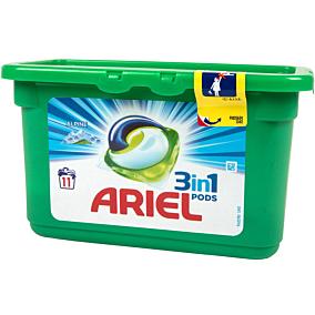Απορρυπαντικό ARIEL ALPINE 3 σε 1 πλυντηρίου ρούχων, σε υγρές κάψουλες (11τεμ.)