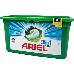 Απορρυπαντικό ARIEL ALPINE 3 σε 1 πλυντηρίου ρούχων, σε υγρές κάψουλες (38τεμ.)