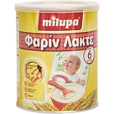 Παιδική κρέμα MILUPA φαρίν λακτέ (300g)