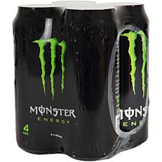 Ενεργειακό ποτό MONSTER (4x500ml)