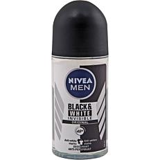 Αποσμητικό σώματος NIVEA Men Invisible roll on (50ml)