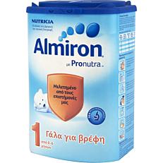 Γάλα σε σκόνη ALMIRON 1 για παιδιά από 0 έως 6 μηνών
