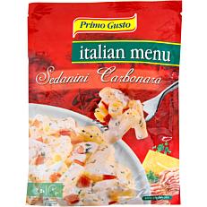 Ημιέτοιμο γεύμα PRIMO GUSTO Italian menu με σάλτσα καρμπονάρα (175g)