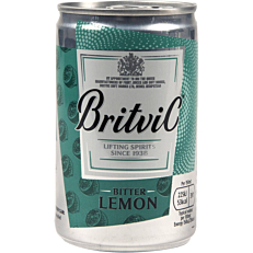 Αναψυκτικό BRITVIC bitter lemon (150ml)