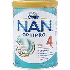 Γάλα σε σκόνη NESTLE NAN 4 optipro για παιδιά 2+ ετών