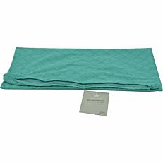 Μαξιλαροθήκη YASEMI διακοσμητική τυρκουάζ 45x45cm