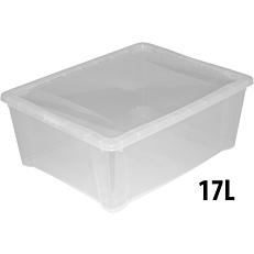 Κουτί αποθήκευσης PP 17lt 43x43x16(Y)cm