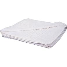 Πετσέτα RESORT LINE σώματος με μαίανδρο λευκή 70x140cm