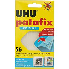 Κόλλα UHU patafix αόρατη (56τεμ.)