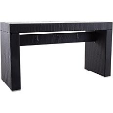 Τραπέζι RESORT LINE μπαρ, αλουμίνιο rattan 200x74,5x110