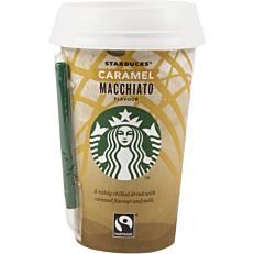 Ρόφημα καφέ STARBUCKS caramel macchiato (220ml)