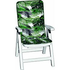 Μαξιλάρι πολυθρόνας jungle για καρέκλα 110x48x4cm (2τεμ.)