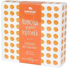 Λουκούμι LOUKOUMILAND πορτοκάλι (400g)