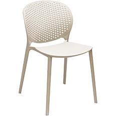 Καρέκλα πλαστική PP μπεζ