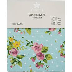 Τραπεζομάντηλο YASEMI floral aqua 90x90cm