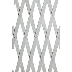 Πέργκολα πλαστική λευκή 100x200cm