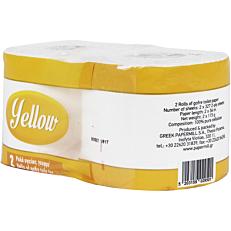 Χαρτί υγείας YELLOW (2x115g)