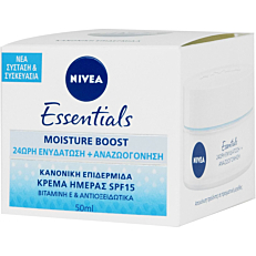 Κρέμα ημέρας NIVEA Essentials για κανονική, για μεικτή επιδερμίδα (50ml)