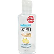 Αντισηπτικό OPEN mild antiseptic gel για τα χέρια (80ml)