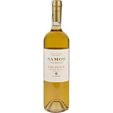 Οίνος λευκός Samos Vin Doux ΕΟΣ ΣΑΜΟΥ γλυκός, ενισχυμένος (750ml)