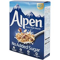 Δημητριακά ALPEN μούσλι χωρίς ζάχαρη (560g)
