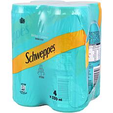 Αναψυκτικό SCHWEPPES σόδα bitter lemon (4x330ml)