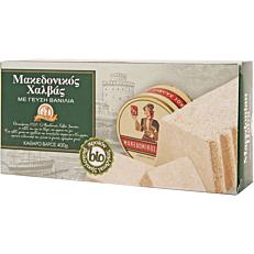 Χαλβάς ΑΦΟΙ ΧΑΪΤΟΓΛΟΥ Μακεδονικός με γεύση βανίλια βιολογικός (bio) (400g)