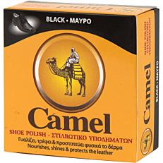 Βερνίκι παπουτσιών CAMEL πάστα μαύρο (40ml)