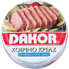 Κονσέρβα DAKOR χοιρινό σε συσκευασία easy open (200g)