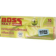 Εντομοαπωθητικό BOSS πλακίδια (10τεμ.)