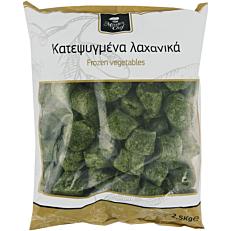 Σπανάκι MASTER CHEF κομμένο κατεψυγμένο (2,5kg)