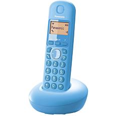 Τηλέφωνο PANASONIC KX-TGB210 ασύρματο, ψηφιακό μπλε