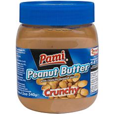Φυστικοβούτυρο PAMI crunchy (340g)