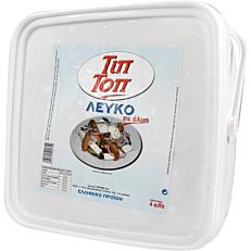 Αναπλήρωμα τυριού ΤΙΠ ΤΟΠ λευκό (4kg)