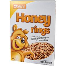 Δημητριακά BONORA Honey Rings (375g)