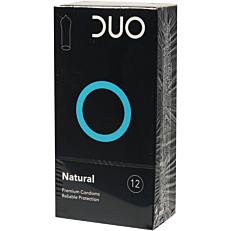 Προφυλακτικά DUO Natural (κανονικά) (12τεμ.)