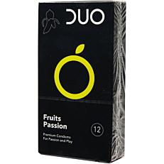 Προφυλακτικά DUO Fruits Passion (12τεμ.)