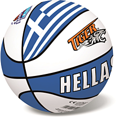 Μπάλα μπάσκετ TIGER δερμάτινη Hellas Νο.7