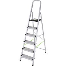 Σκάλα PALBEST Hobby XXL αλουμινίου, 5+1 σκαλιών