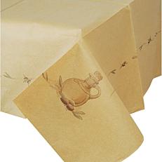 Τραπεζομάντηλο ENDLESS κραφτ με σχέδιο ελιά 1x1m (150τεμ.)