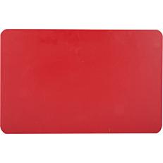 Πλάκα κοπής κόκκινη 60x40x2cm