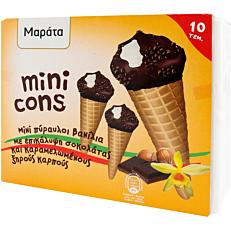 Παγωτό ΜΑΡΑΤΑ mini πύραυλοι (10x400g)