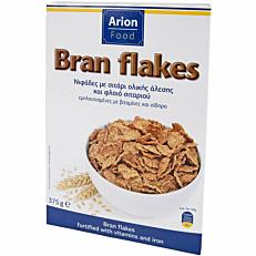 Δημητριακά ARION FOOD Bran Flakes (375g)