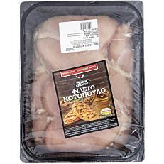 Κοτόπουλο ΠΑΤΕΡΑΚΗΣ στήθος φιλέτο νωπό παρασκευασμένο (4kg)