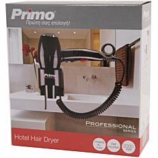 Σεσουάρ PRIMO μπάνιου μαύρο 2000W