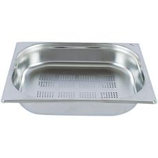 Gastronorm δοχείο διάτρητο inox 18/10 GN 1/2 KAYALAR 32,5x26,5cm - 6,5cm 4lt